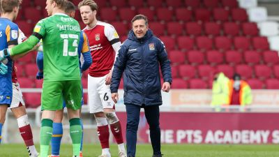 New Northampton Town boss, Jon Brady.
