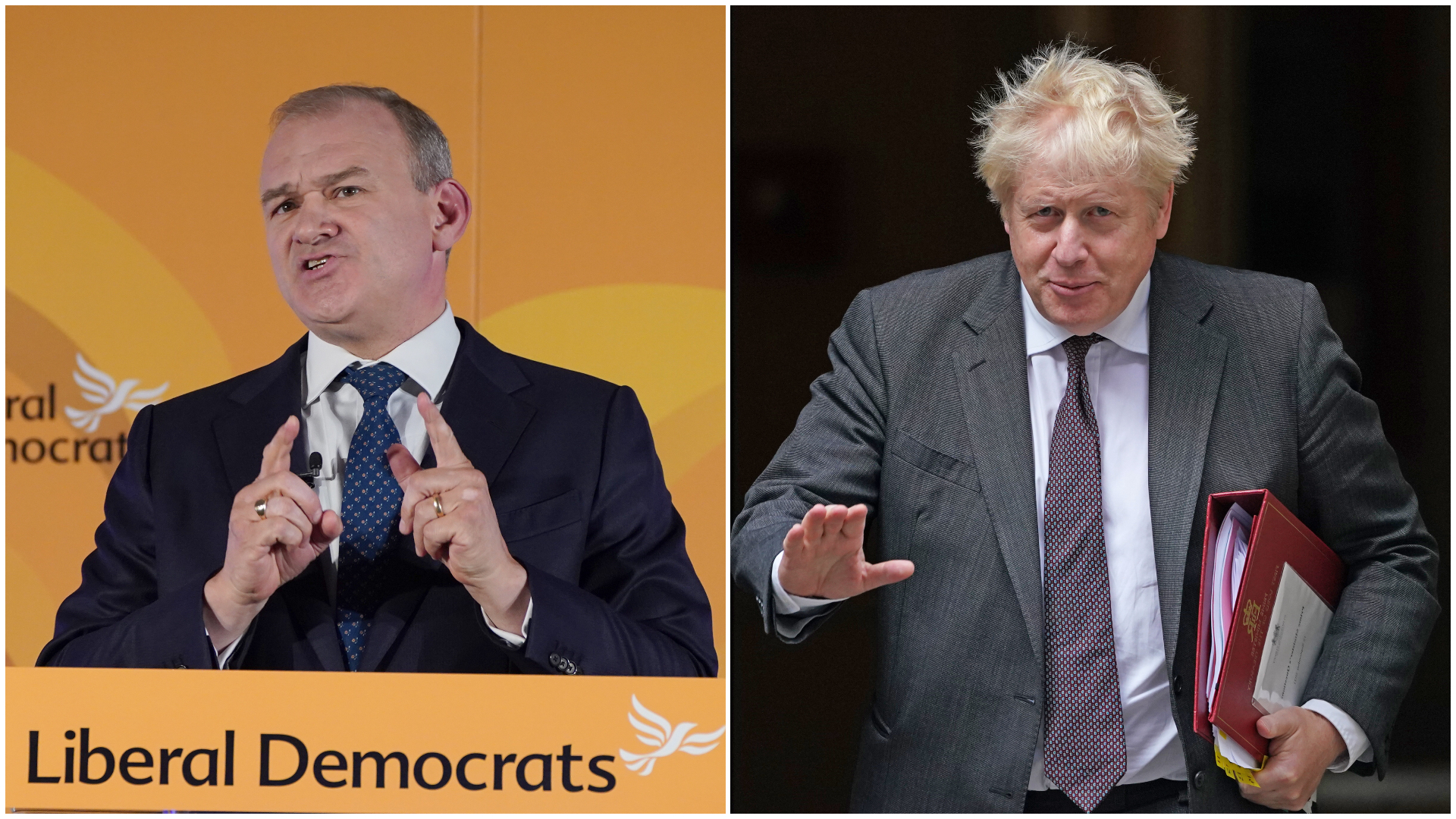 Lib Dems leader Ed Davey suggests party could cut Tory majority in next election | ITV News