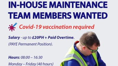 The home services company wants to take on six new people but only if they can show proof of at least one Covid-19 vaccination.