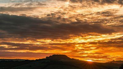 Shipton Gorge hill, Dorset