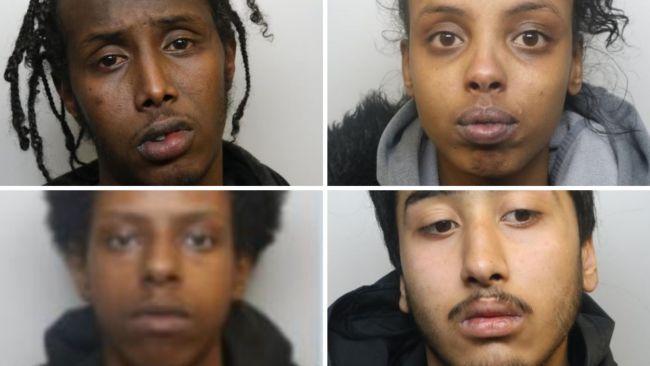 27-09-21- Abdullahi Aden, Zubiar Hassan Hamdi, Yuvraj Singh and Nasra Ali- Avon and Somerset Police