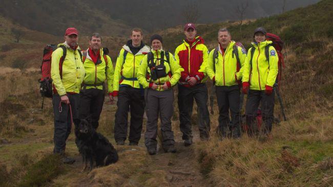 280321 Mountain Rescue team
