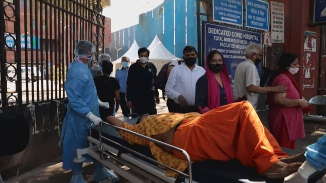 Families from the South say they feel helpless with their loved ones in India as the country battles its second wave of Covid.