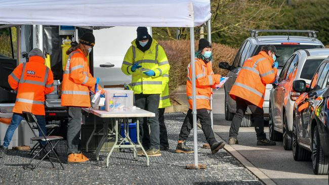 Surge testing being carried out in Bristol.