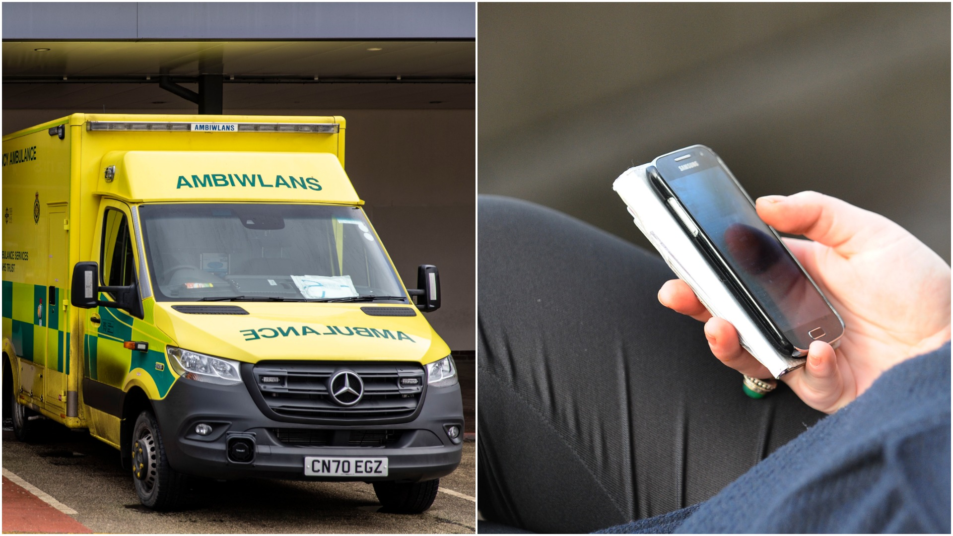 'Onion juice in eyes' among calls to Wales Ambulance Service last year   ITV News
