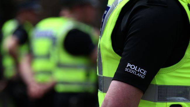 PA Images stockshot of Police Scotland officers.