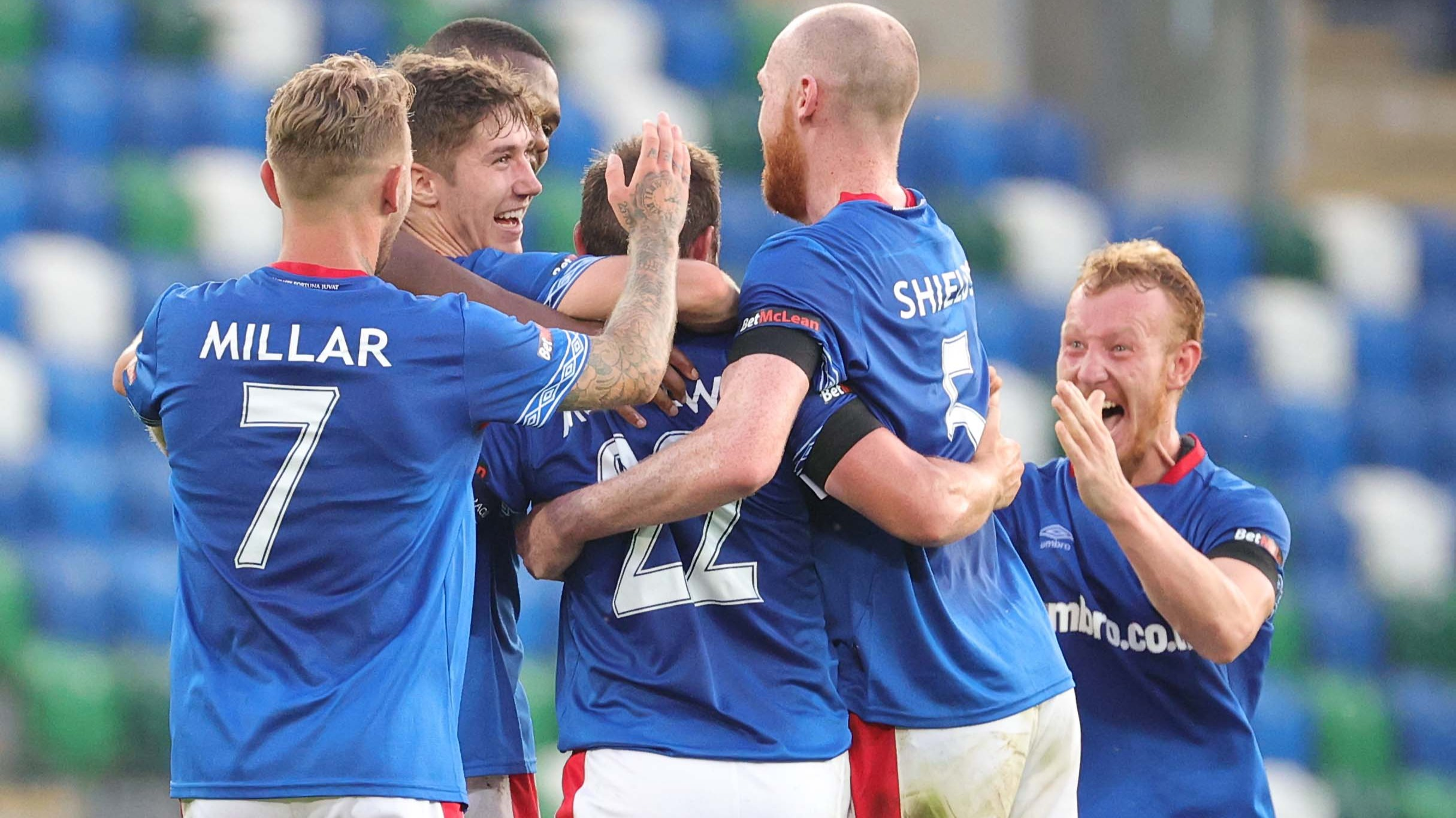 Linfield and Larne win in the Europa Conference League | ITV News