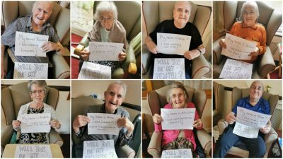 The Haven Residential Home Lincoln Pen Pal Pics