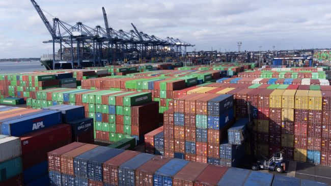131021 Felixstowe container port, PA