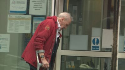 Maurice Kirk Court Arrival 130520