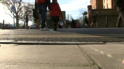Children and parents encouraged to walk to school