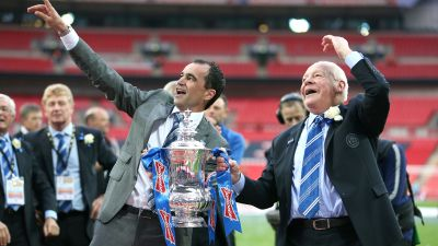 010720 Wigan Athletic lifted the FA Cup in 2013