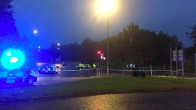 19-05-21- Emergency services at the scene of the crash on Hartcliffe Way- Bristol Live