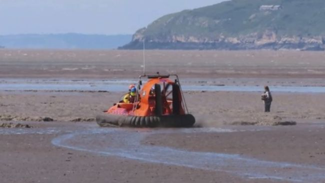 BARB Search and Rescue Team on a call-out earlier this month