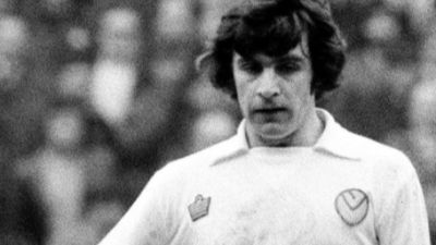 Leeds United twitter picture of Lorimer