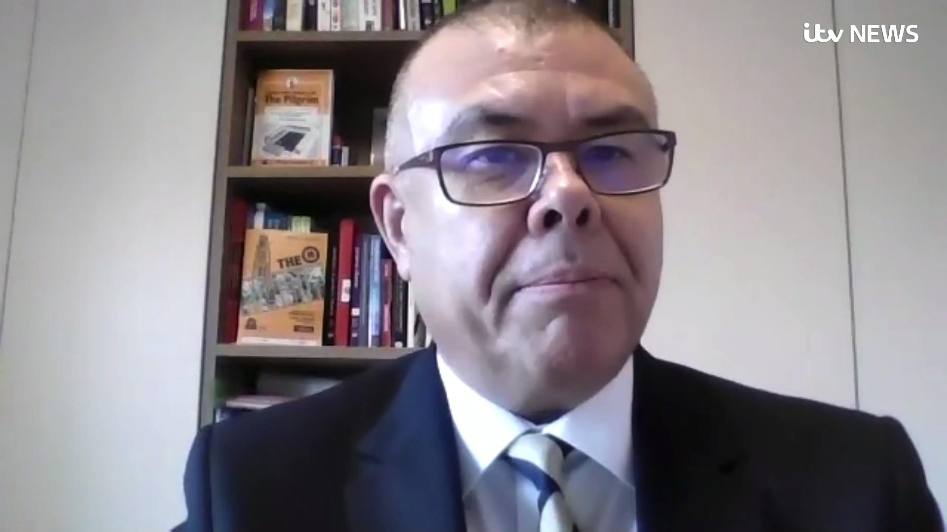 Covid vaccine is 'terrific news' but do not relax yet, Professor Van Tam warns | ITV News