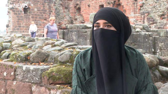 Amira Patel of the Wanderlust Women. 17/9/21. ITV Border