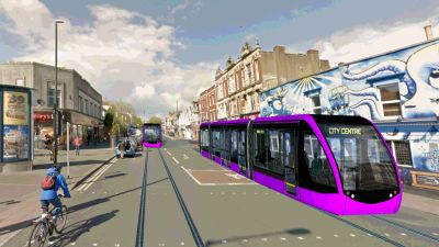 The plans would effectively recreate Bristol pre-war tram network