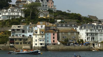 GV of Salcombe from PA