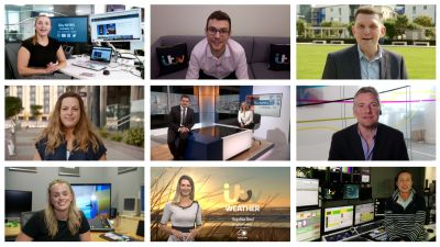 Colleagues from ITV News in the Channel Islands have been sharing what a typical day is for them at work
