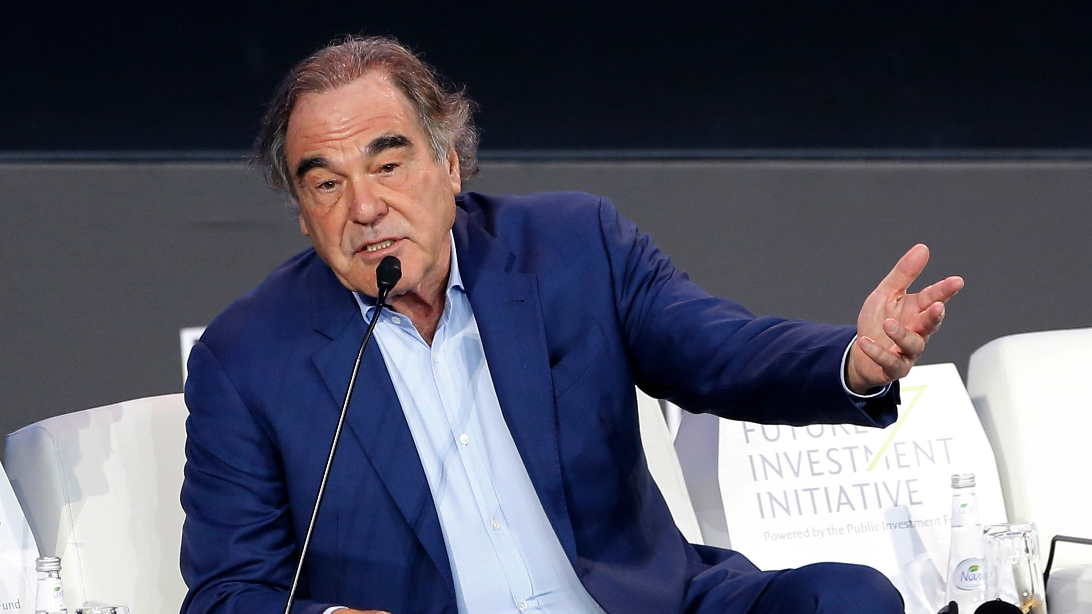 Oliver Stone on Trump: 'There is something vastly wrong with his ego' | ITV News