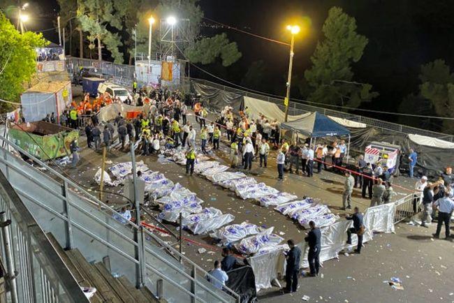 Israel Festival Stampede