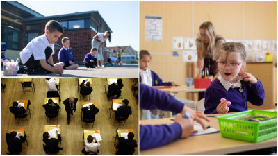 Schools to keep children apart in year group 'bubbles' on full return in autumn PA