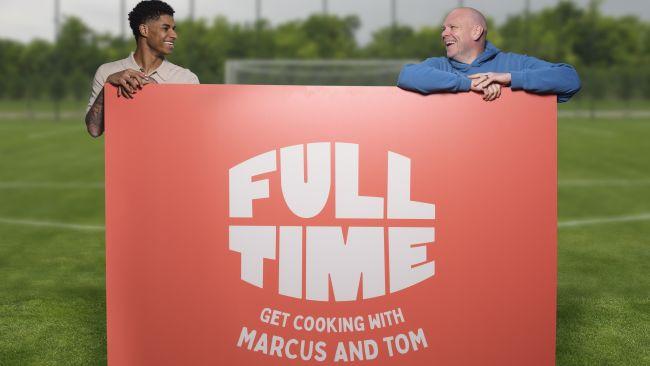 Marcus Rashford and chef Tom Kerridge unite for cooking tutorials on a budget