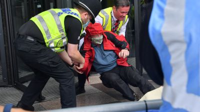 030920 extinction rebellion protest bbc wales 1