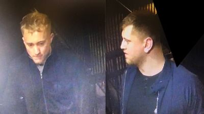 Two men wanted by police in Bristol after an assault on a delivery driver