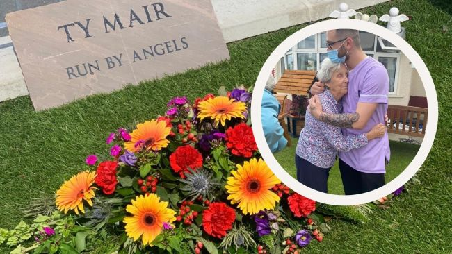 310721-TY MAIR care home garden opening