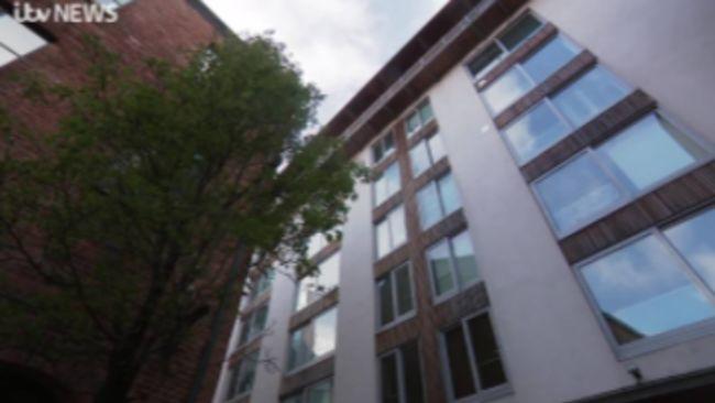 Timble Beck flats in Leeds