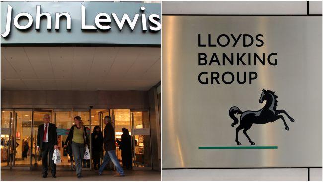 John Lewis and Lloyds Banking Group