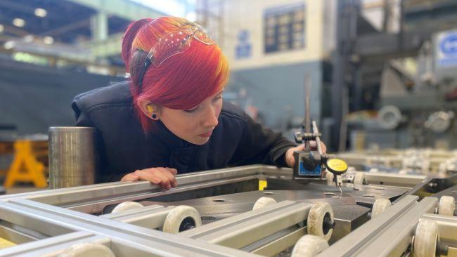 Hannah Cocklin Tool Room Apprentice at Jaguar Land Rover Halewood