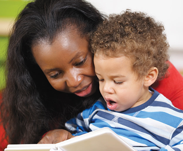 Woman-reads-with-toddler