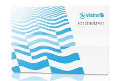 Västtrafik card