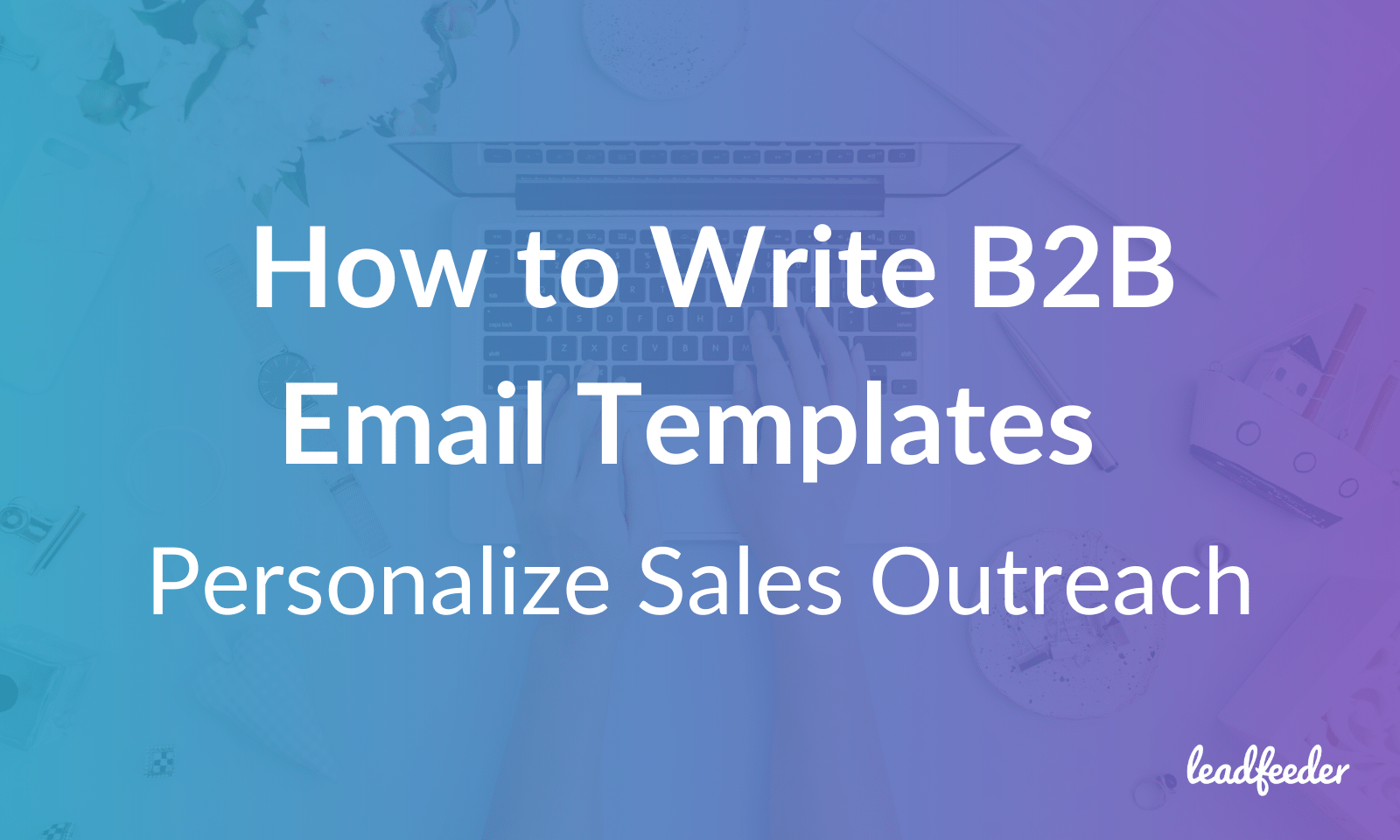 b2b email templates header