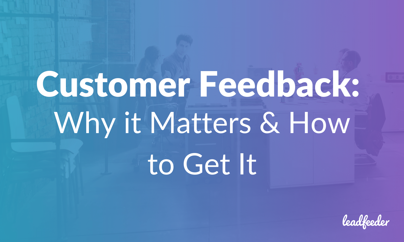customer feedback header