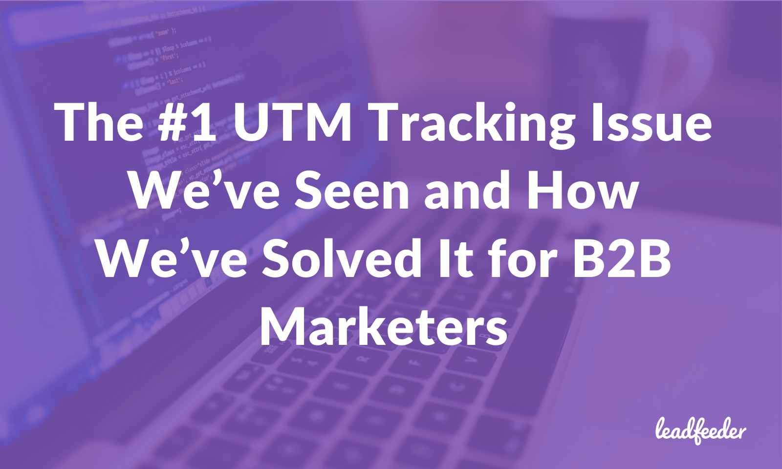 utm tracking issue