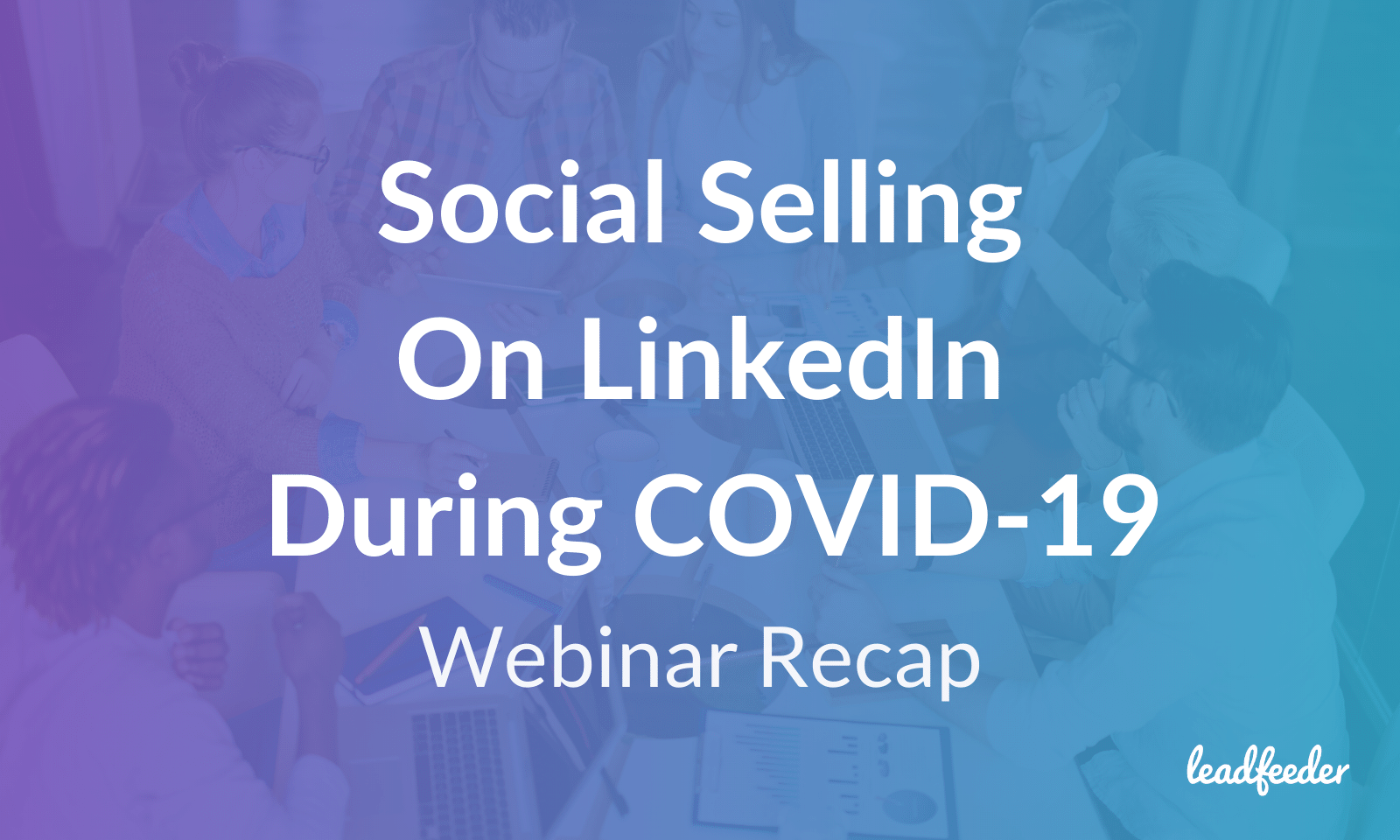 linkedin social selling covid19 header