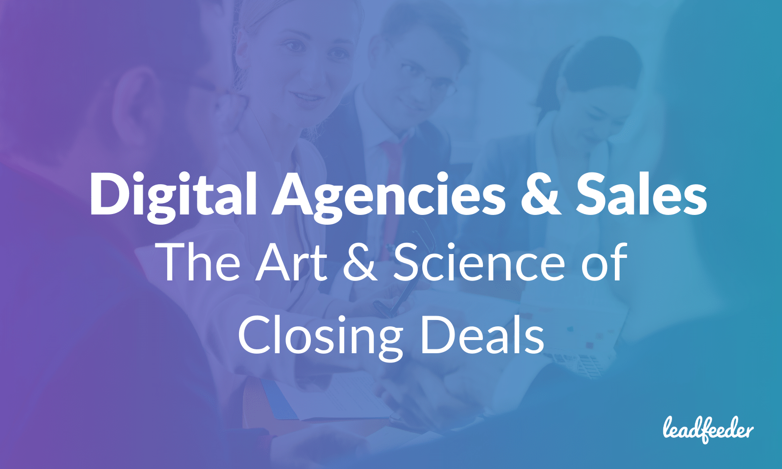 header image for digital agency sales webinar
