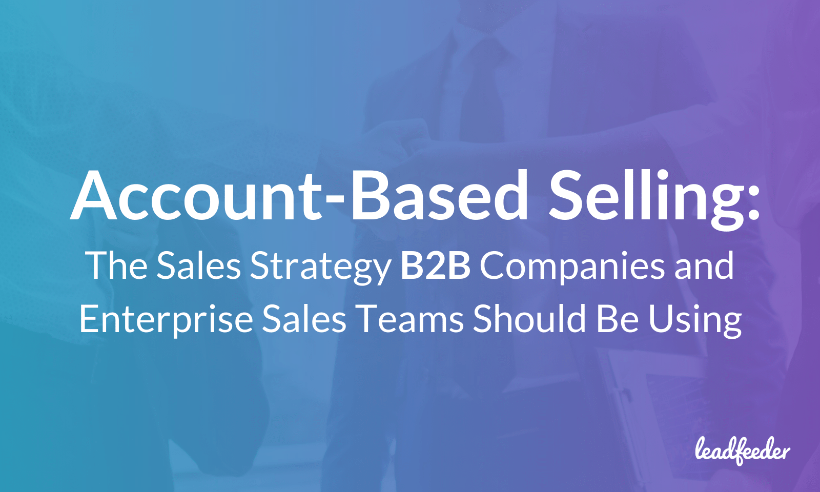 account-based selling header