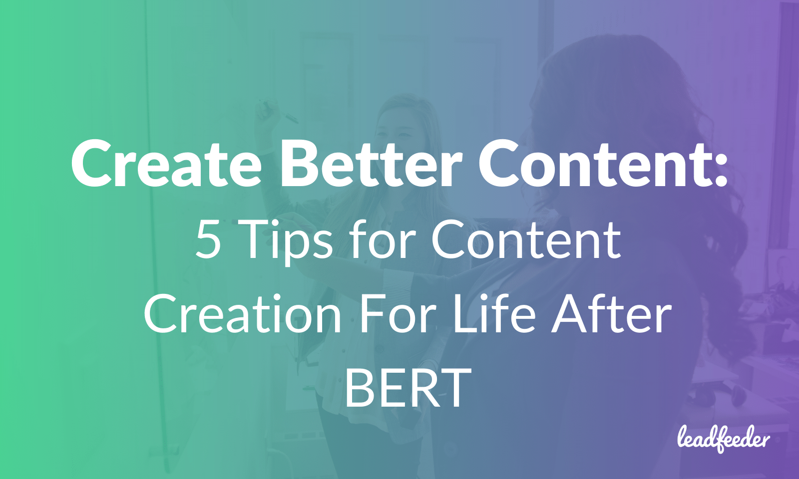 bert content creation header