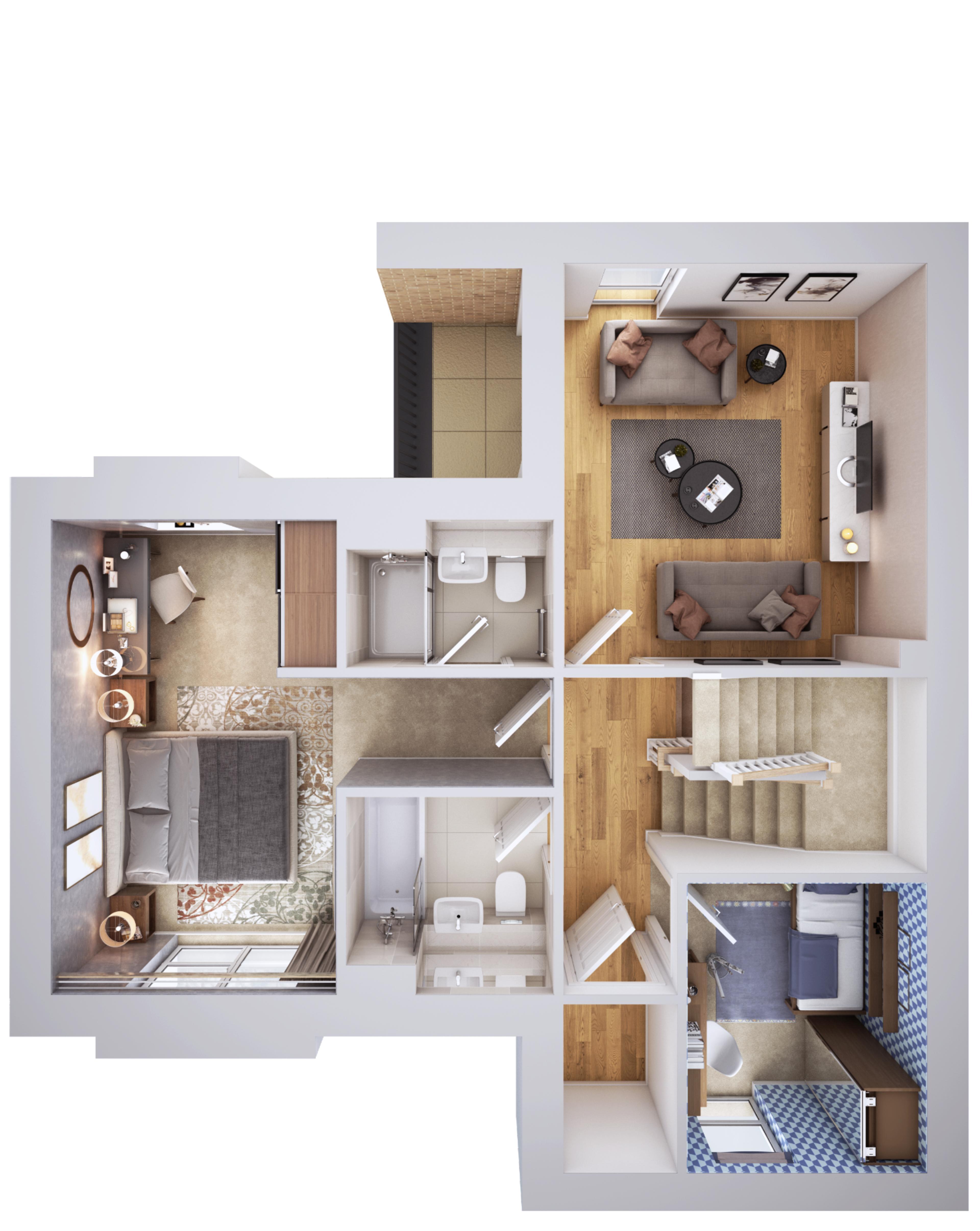 Pompadour - Onyx - First Floor - Plot 240