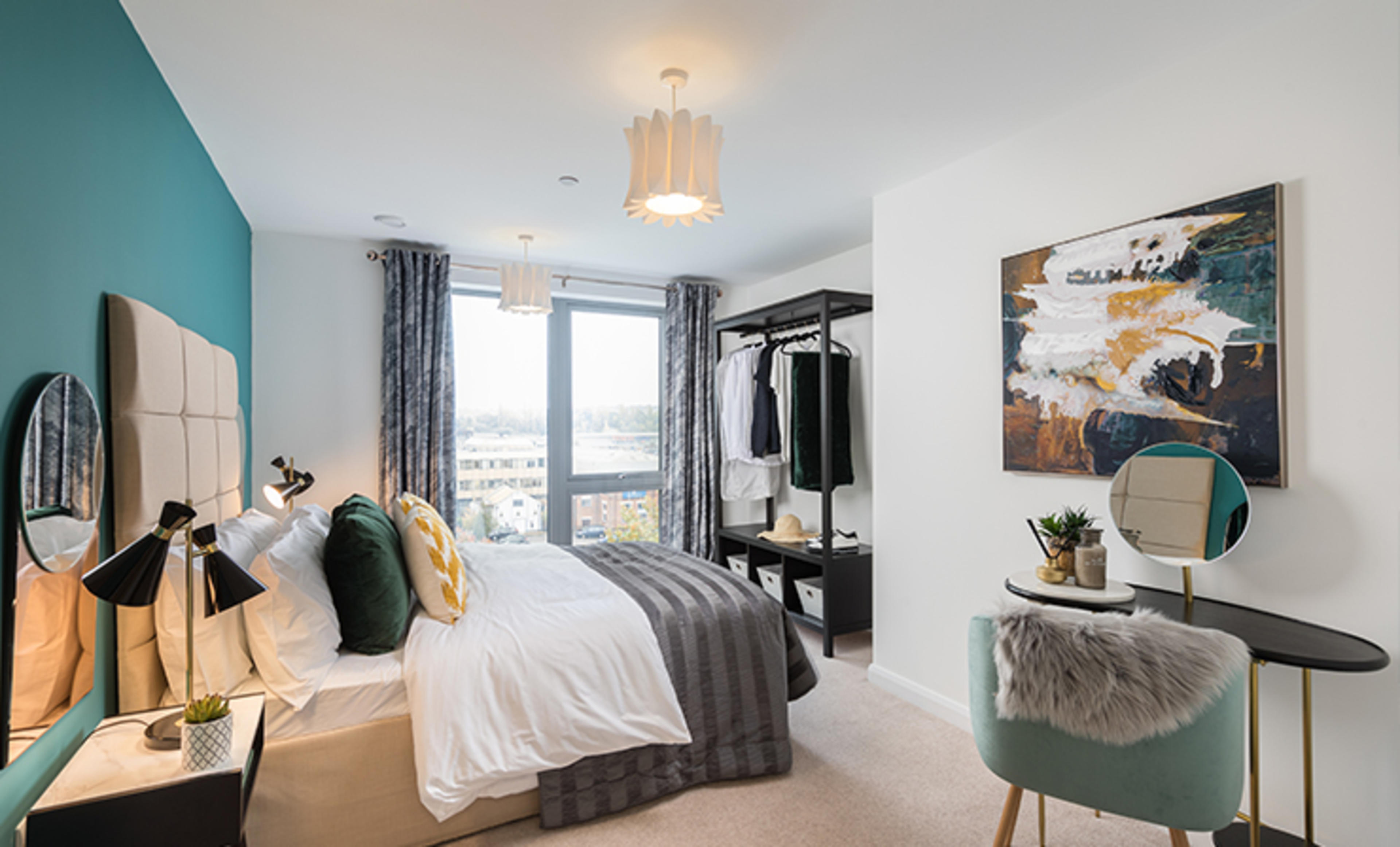 Franklin Court - new two bedroom apartment - bedroom 2