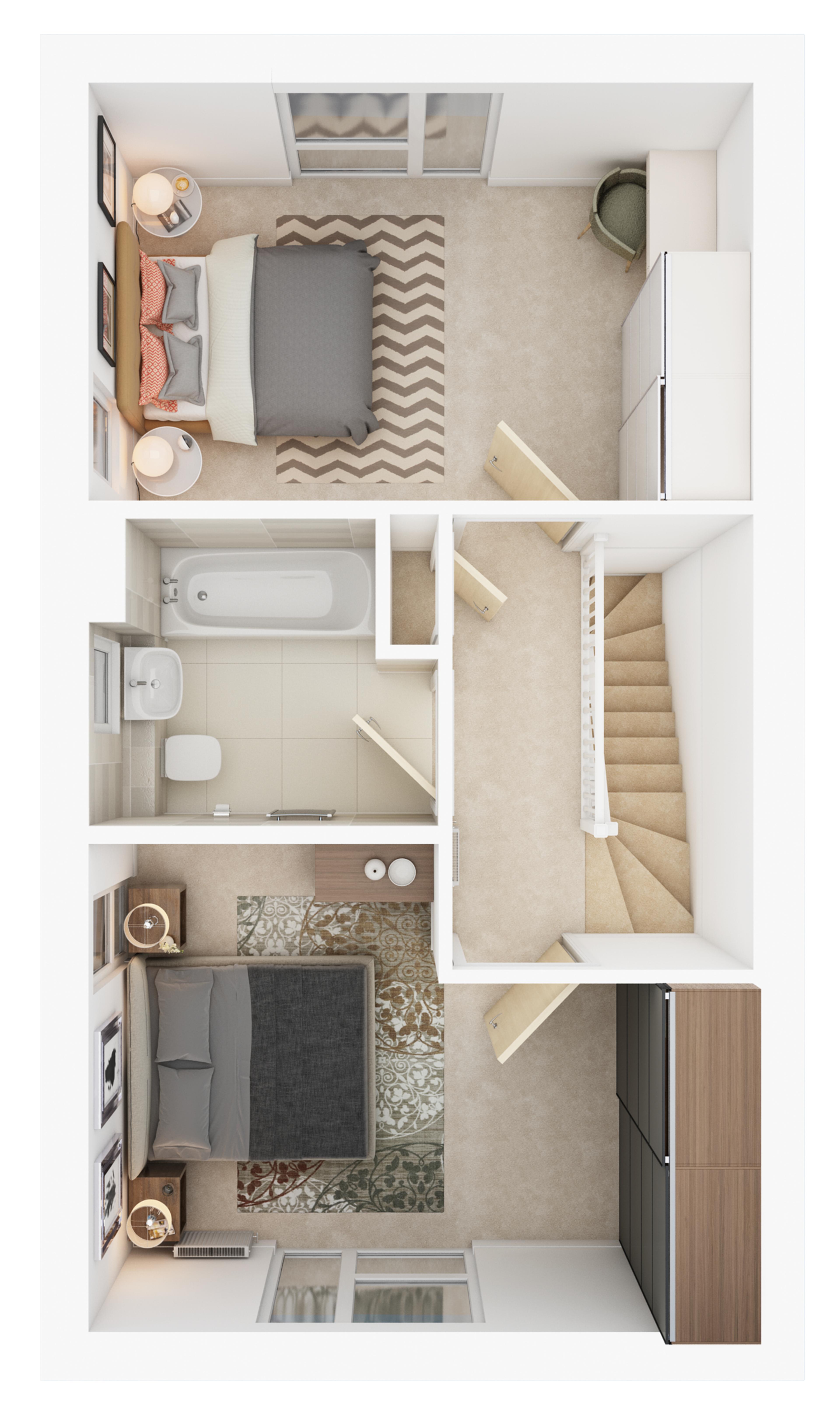 Watling Grange >Byland > First floor