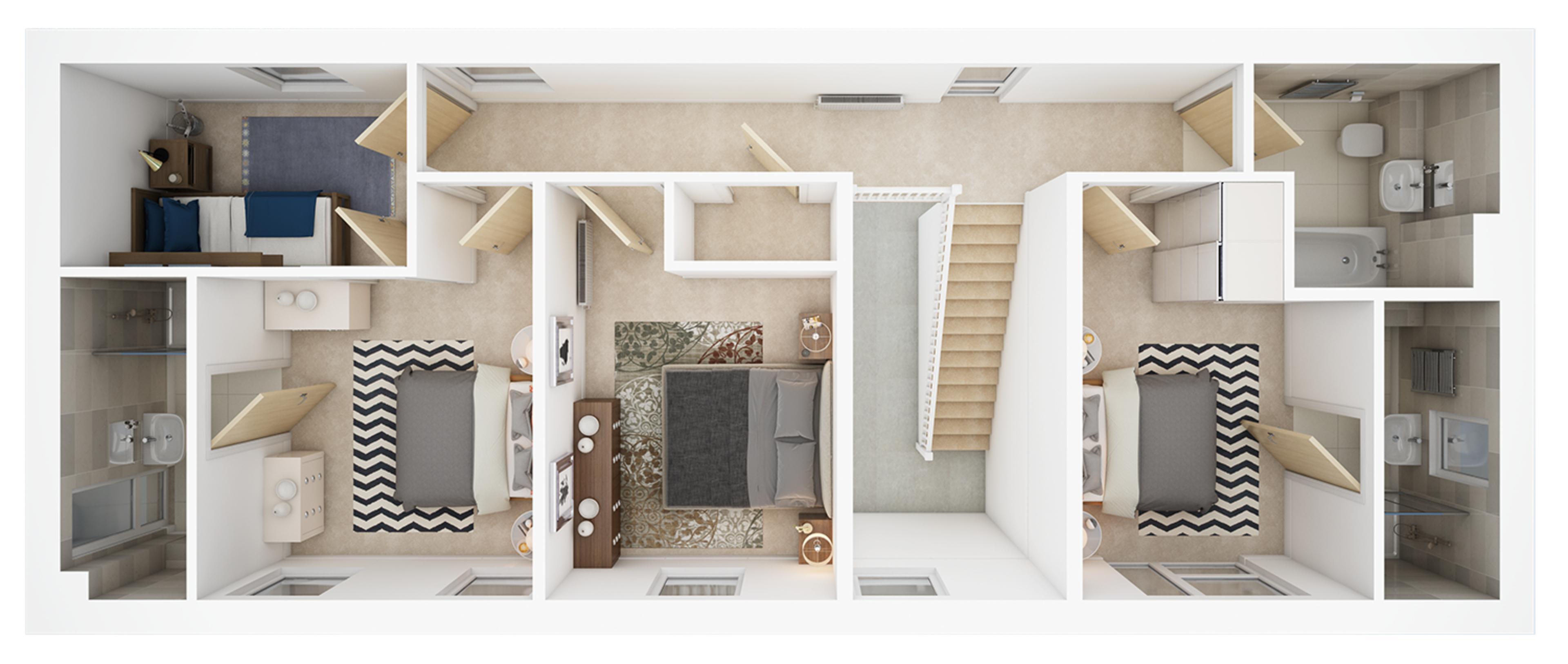 Watling Grange > Merevale > First floor