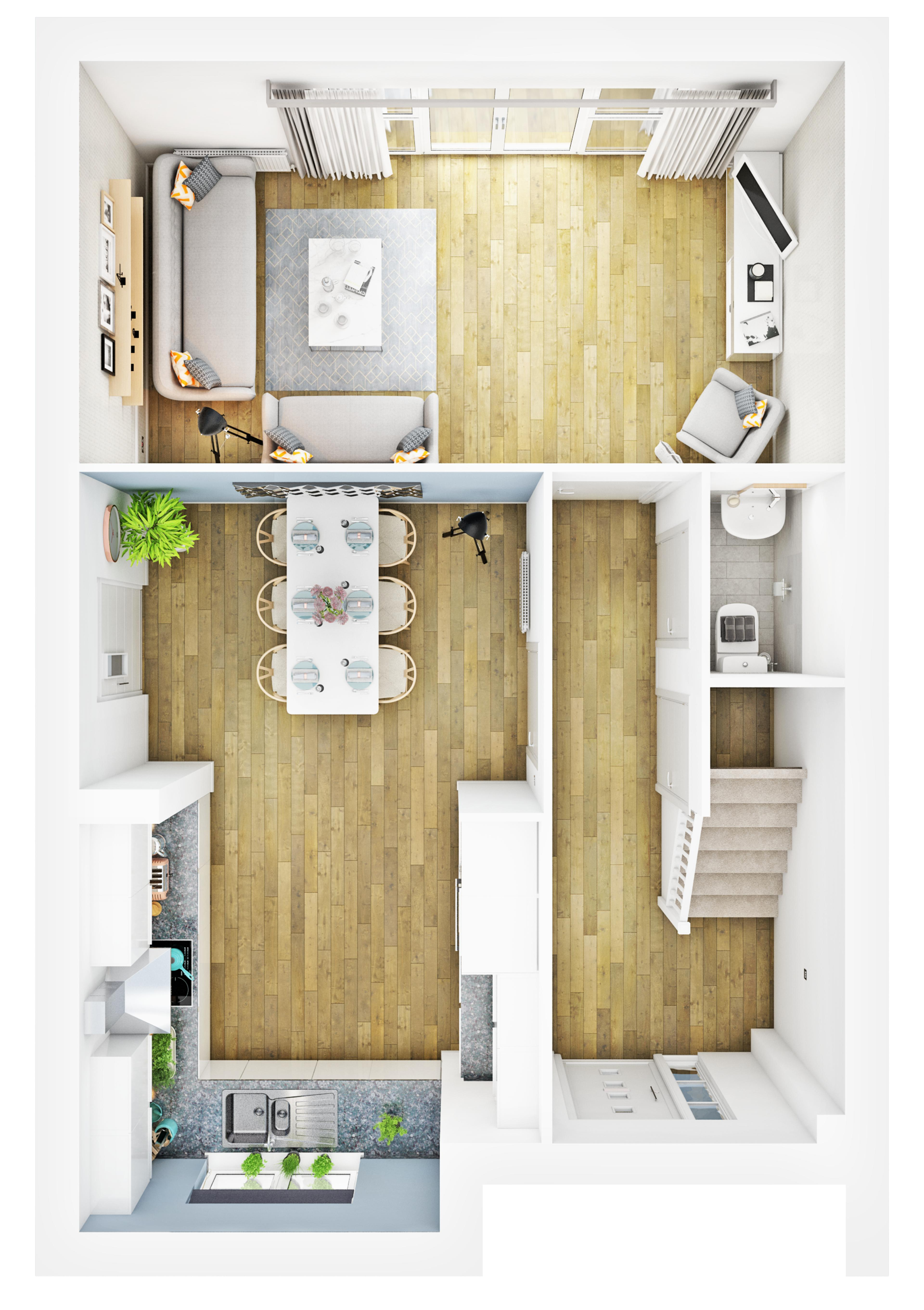 Meaux Rise-Forte-Ground Floor