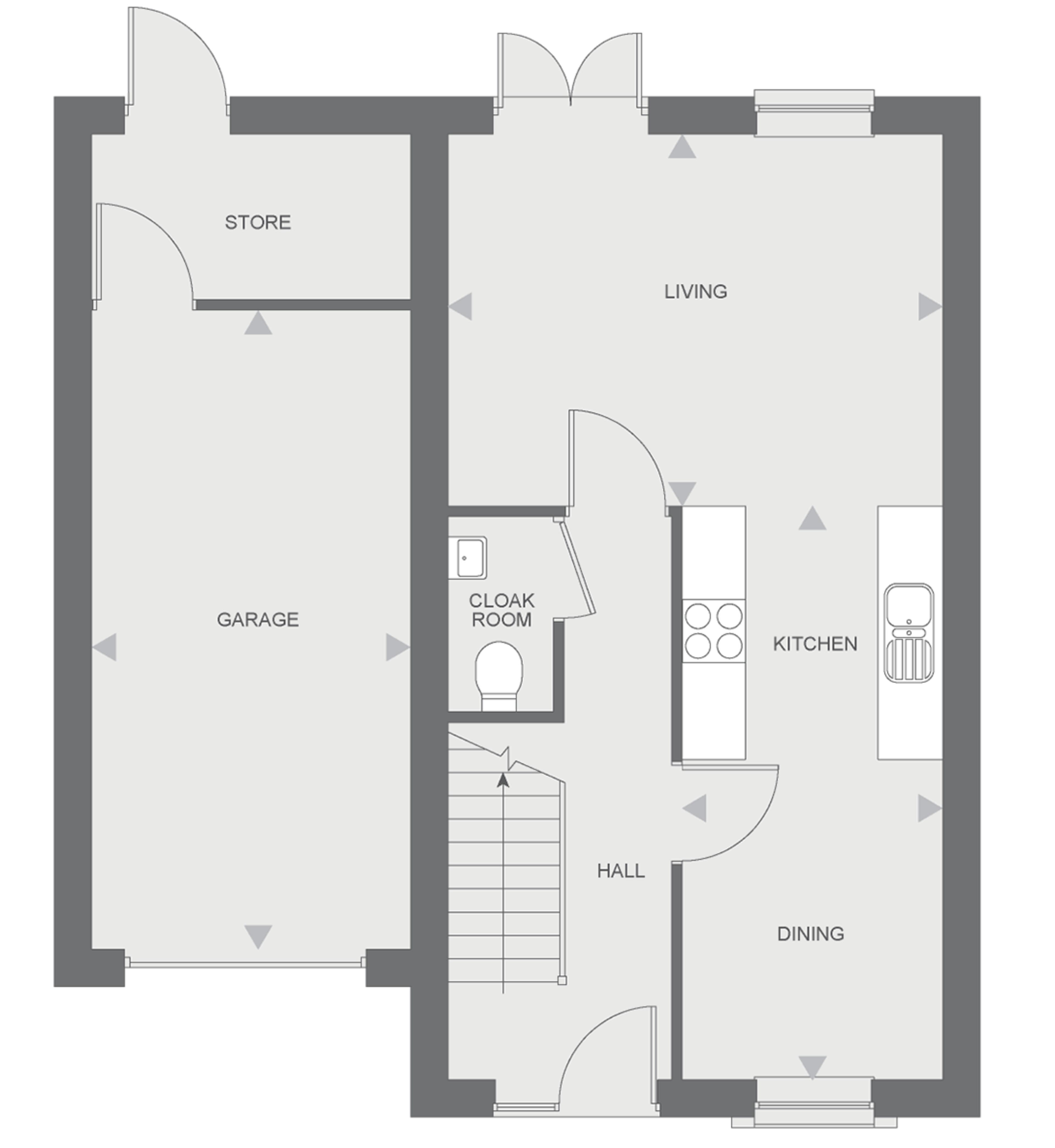 Langley - Ground floor