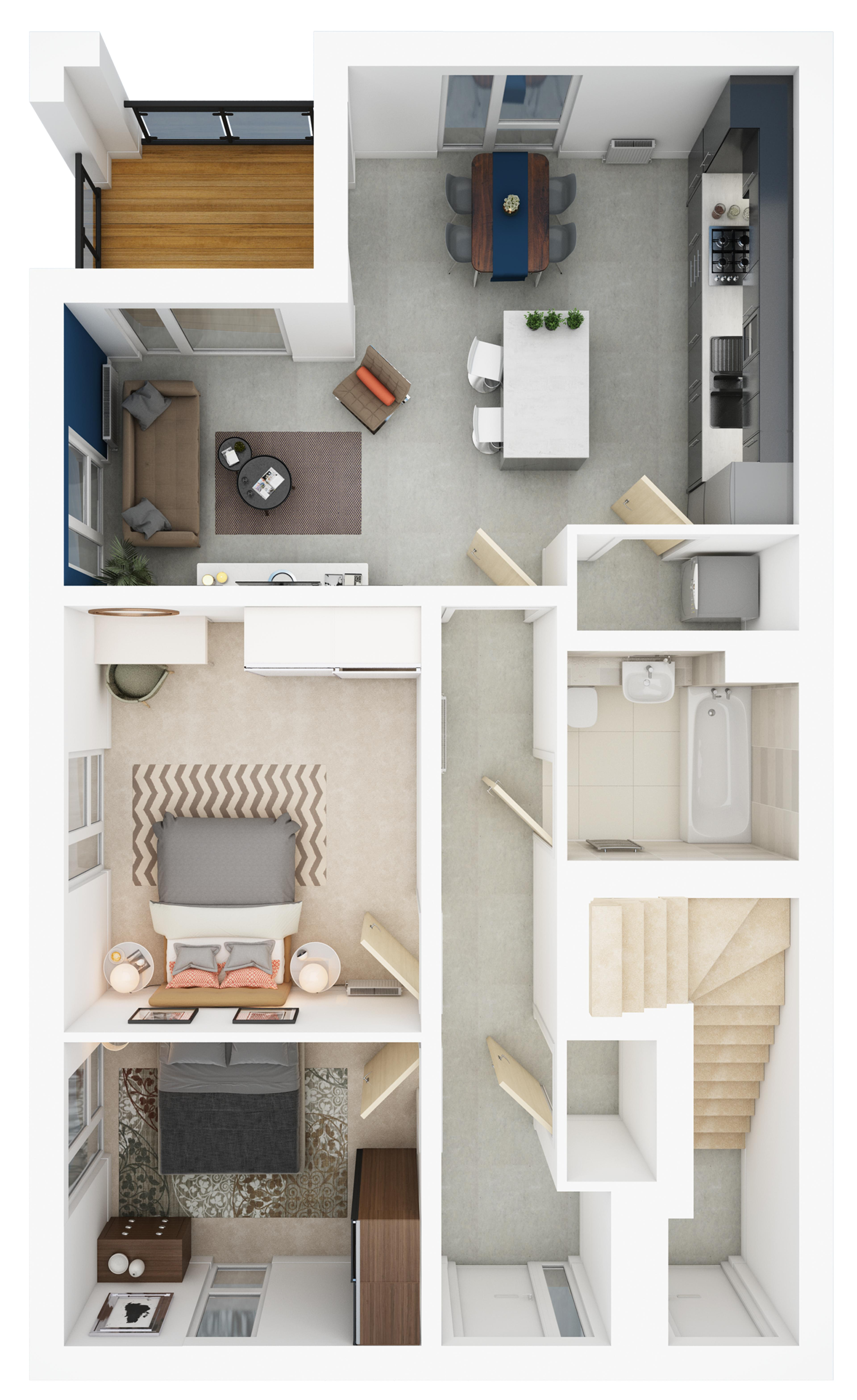 Rievaulx > Ground floor apartment